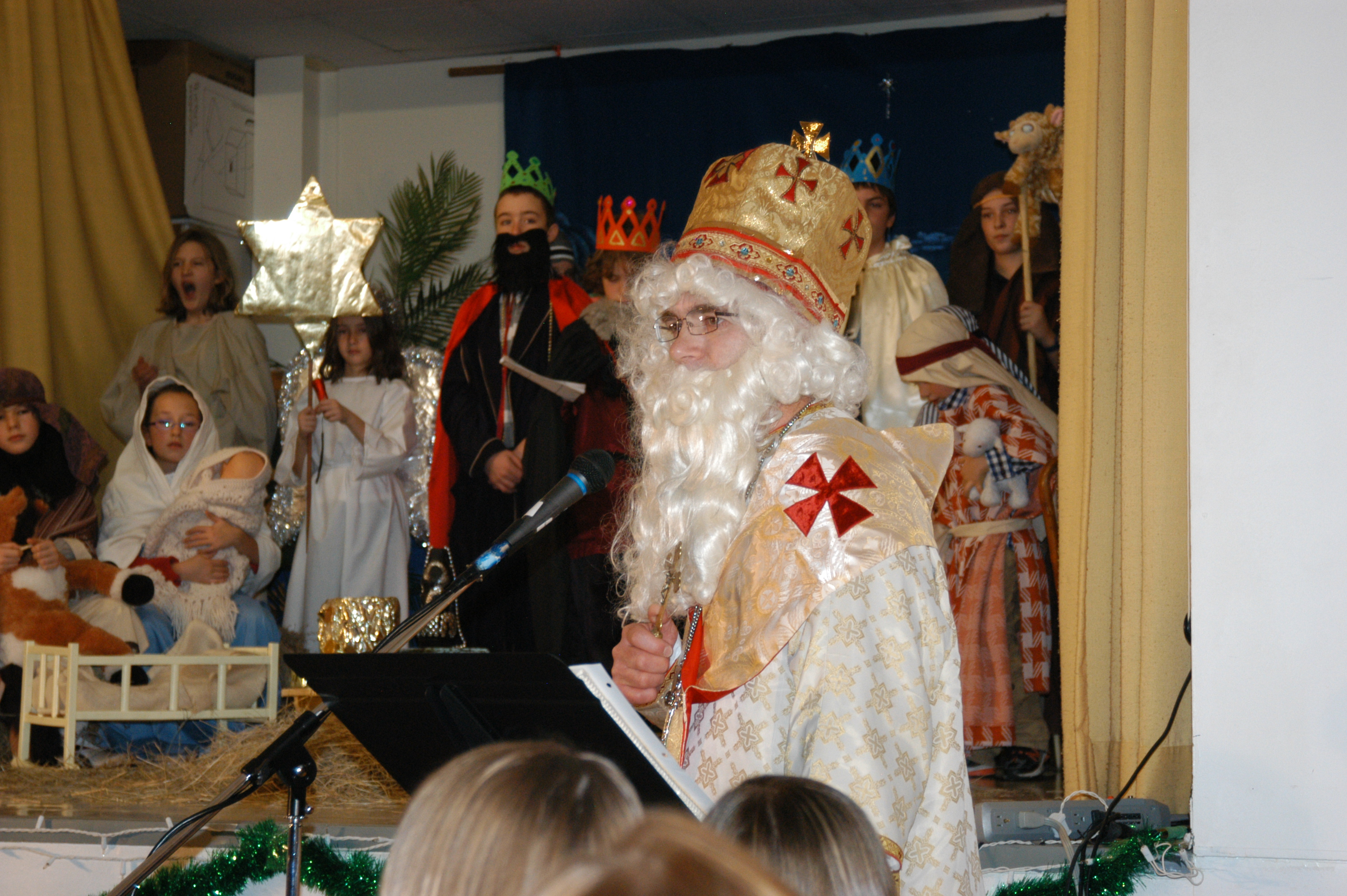 St. Nicholas Visit/Christmas Pageant Photos | Holy Family ...
